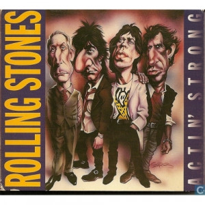 ROLLING STONES - Actin' Strong - CD - 2CD