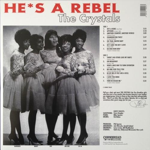 The Crystals - He's A Rebel - Vinyl - LP