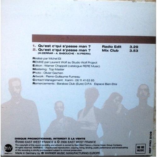 Totem Spirit –  - Qu'Est C' Qui S' Passe Man? - CD - Single