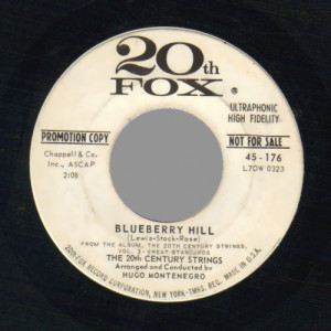 20th Century Strings - Blueberry Hill / Heartaches - 45 - Vinyl - 45''