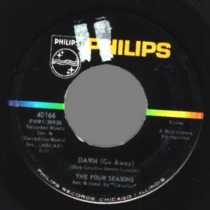 4 Seasons - No Surfin' Today / Dawn - 45 - Vinyl - 45''