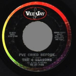 4 Seasons - Sherry / I've Cried Before - 45 - Vinyl - 45''