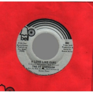 5th Dimension - Puppet Man / A Love Like Ours - 45 - Vinyl - 45''