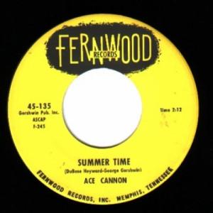 Ace Cannon - Summer Time / Hoe Down Rock - 45 - Vinyl - 45''