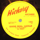 Al Terry - Good Deal Lucille / Say A Prayer For Me - 78