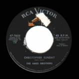 Ames Brothers - China Doll / Chistopher Sunday - 45