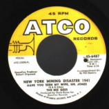 Bee Gees - New York Mining Disaster 1941 / I Can't See Nobody - 45