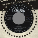 Betty Johnson - If It's Wrong To Love You / I Dreamed - 45