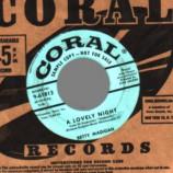 Betty Madigan - A Lovely Night / True Love Gone - 45