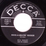 Bill Haley & His Comets - Rock A Beatin Boogie / Burn That Candle - 45