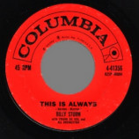 Billy Storm - This Is Always / I've Come Of Age - 45