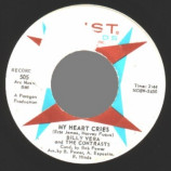 Billy Vera & The Contrasts - My Heart Cries / All My Love - 45