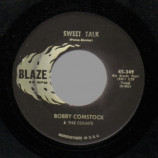 Bobby Comstock & The Counts - Tennesse Waltz / Sweet Talk - 45