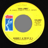 Booker T & The Mgs - Soul Limbo / Heads Or Tails - 45