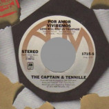 Captain & Tennille - Por Amor Viviremos (love Will Keep Us Together / Broddy Bounce) - 45