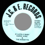 Carol King & The Kingetts - I'm Checking Out / Lately Baby - 45