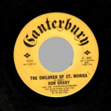 Don Grady - A Good Man To Have Around The House / The Children Of St. Monica - 45