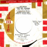 Duane Eddy & The Rebels - Because They're You / Rebel Walk - 45