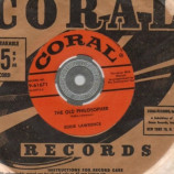 Eddie Lawrence - The Old Philosopher / King Arthur's Mines - 45