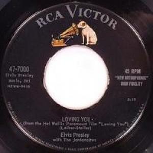 Elvis Presley - Teddy Bear / Loving You - 45 - Vinyl Record - 45''
