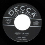 Four Aces - Melody Of Love / There Is A Tavern In The Town - 45