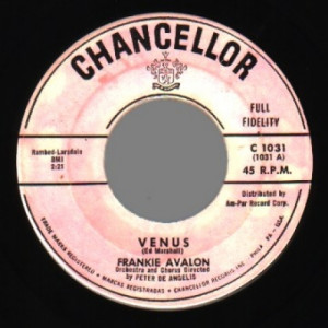 Frankie Avalon - Venus / I'm Broke - 45 - Vinyl Record - 45''