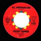 Freddy Cannon - Abigail Beecher / All American Girl - 45