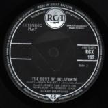 Harry Belafonte - The Best Of Belafonte - EP