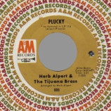 Herb Alpert - The Work Song / Plucky - 45