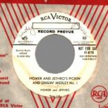 Homer & Jethro - Pickin' And Singin' Medley / The Ballad Of Davy Crew-cut - 45