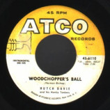 Hutch Davie & His Honky Tonkers - Honky Tonk Train / Woodchopper's Ball - 45