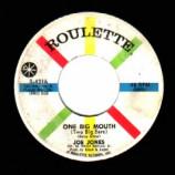 Joe Jones - One Big Mouth Two Big Ears / Here's What You Gotta Do - 45