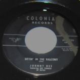 Johnny Dee - Sittin' In The Balcony / A-Plus In Love - 45