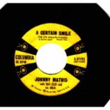 Johnny Mathis - A Certain Smile / Let It Rain - 45