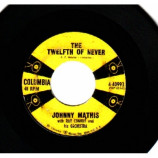 Johnny Mathis - Chances Are / The Twelfth Of Never - 45