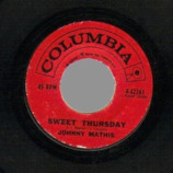Johnny Mathis - One Look / Sweet Thursday - 45