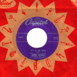 Johnny Standley - It's In The Book - 45