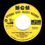 Joni James - How Important Can It Be / This Is My Confession - 45