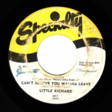 Little Richard - Keep A Knockin\' / Can\'t Believe You Wanna Leave - 45