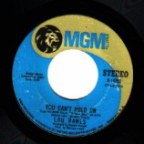 Lou Rawls - A Natural Man / You Can't Hold On - 45
