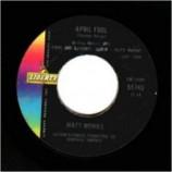 Matt Monro - Walk Away / April Fool - 45