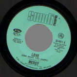 Mercy - Fire Ball / Love (can Make You Happy) - 45