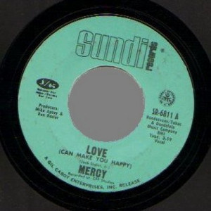 Mercy - Fire Ball / Love (can Make You Happy) - 45 - Vinyl Record - 45''
