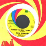 Neil Diamond - Hurtin' You Don't Come Easy / Holly Holy - 45