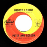 Peter & Gordon - Nobody I Know / You Don't Have To Tell Me - 45