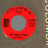 Ronnie Dyson - Girl Don't Come / Why Can't I Touch You - 45