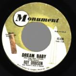 Roy Orbison - Dream Baby / The Actress - 45