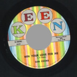 Sam Cooke - Win Your Love For Me / Love Song From Houseboat (almost In Your Arms) - 45
