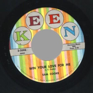 Sam Cooke - Win Your Love For Me / Love Song From Houseboat (almost In Your Arms) - 45 - Vinyl - 45''