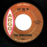 Sensations - Let Me In / Oh Yes I'll Be True - 45